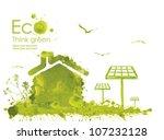 illustration environmentally... | Shutterstock . vector #107232128