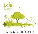 illustration environmentally... | Shutterstock . vector #107232170