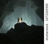 Cave Stone Rock Nature 3d...