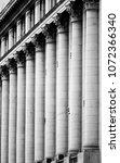 architecture detail columns in... | Shutterstock . vector #1072366340