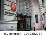 london  april   2018  entrance... | Shutterstock . vector #1072382789