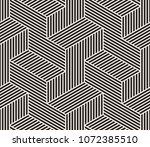 pattern with black parallel... | Shutterstock .eps vector #1072385510