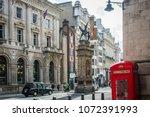 london  april  2018  busy...   Shutterstock . vector #1072391993