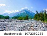 mountain river valley stones...   Shutterstock . vector #1072392236