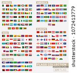 flag of the world  big... | Shutterstock .eps vector #1072413779