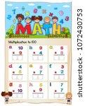 math worksheet for... | Shutterstock .eps vector #1072430753