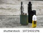 e   cigarette for vaping  ... | Shutterstock . vector #1072432196