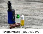 e   cigarette for vaping  ... | Shutterstock . vector #1072432199