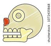 doodle miquizhi death... | Shutterstock .eps vector #1072435868