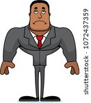 a cartoon businessperson... | Shutterstock .eps vector #1072437359