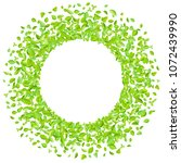 vector fresh spring green... | Shutterstock .eps vector #1072439990