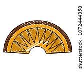doodle aztec indigenous head... | Shutterstock .eps vector #1072444358