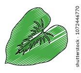 doodle spring nature leaf tree... | Shutterstock .eps vector #1072446770