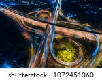 the light on the road... | Shutterstock . vector #1072451060