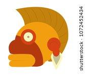 indigenous ozamatli native... | Shutterstock .eps vector #1072452434