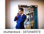 confident man proud ceo dressed ... | Shutterstock . vector #1072460573