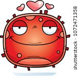 a cartoon illustration of a red ... | Shutterstock .eps vector #1072471358