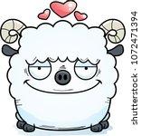 a cartoon illustration of a ram ...   Shutterstock .eps vector #1072471394