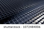 gray metallic industrial grunge ... | Shutterstock . vector #1072484006