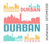 durban south africa flat icon...   Shutterstock .eps vector #1072492520