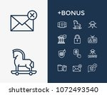 secure icon set and security...