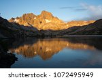 Reflection Of Mount Ritter In...