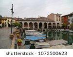 desenzano del garda  italy  ... | Shutterstock . vector #1072500623