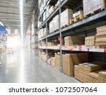 blurred image of stock...   Shutterstock . vector #1072507064
