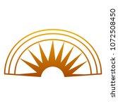 degraded line aztec indigenous... | Shutterstock .eps vector #1072508450
