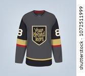 vector illustration of hockey... | Shutterstock .eps vector #1072511999