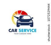 car service logo design vector | Shutterstock .eps vector #1072529444