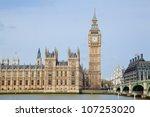 Landscape Of Big Ben At City...