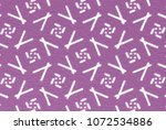 color line pattern with rough... | Shutterstock . vector #1072534886