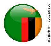 zambia flag vector round icon   ... | Shutterstock .eps vector #1072536620