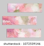 abstract cover template with... | Shutterstock .eps vector #1072539146