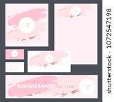 set design templates for...   Shutterstock .eps vector #1072547198
