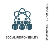 social responsibility solid... | Shutterstock .eps vector #1072580078