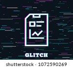 glitch effect. report document...