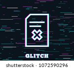 glitch effect. remove document...