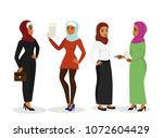 vector illustration set of... | Shutterstock .eps vector #1072604429