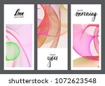 universal card sets with... | Shutterstock .eps vector #1072623548