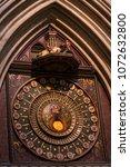 wells cathedral  somerset ... | Shutterstock . vector #1072632800