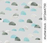 gray seamless pattern...   Shutterstock . vector #1072664750