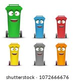 Garbage Containers For Sorting...