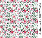 floral tender beautiful bright...   Shutterstock . vector #1072676606