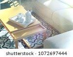 living room. interior... | Shutterstock . vector #1072697444