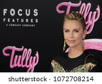 charlize theron at the los... | Shutterstock . vector #1072708214