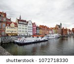gdansk  poland. 12 june 2017 ... | Shutterstock . vector #1072718330