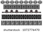 tribal tattoo designs  | Shutterstock . vector #1072776470