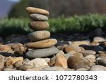 rocks stacked up | Shutterstock . vector #1072780343